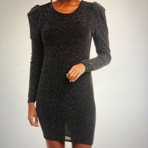 BCBG Generation Puff Sleeve Dress
